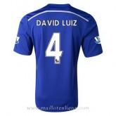Acheter Nouveau Maillot Chelsea David Luiz Domicile 2014 2015