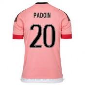 Achetez le Maillot Juventus Paddoin Exterieur 2015 2016
