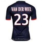 Achetez le Maillot Psg Van Der Wiel Domicile 2013-2014