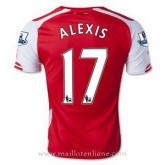 Boutique Maillot Arsenal Alexis Domicile 2014 2015