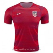 Boutique Maillot Avant-Match Usa Rouge 2016 2017