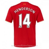Boutique Officielle Maillot Liverpool Henderson Domicile 2015 2016