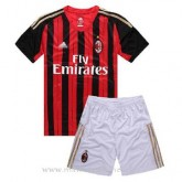 Collection Maillot Ac Milan Enfant Domicile 2013-2014
