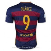 Collection Maillot Barcelone Suarez Domicile 2015 2016