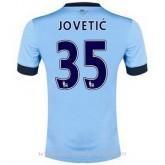 France Maillot Manchester City Jovetic Domicile 2014 2015