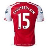 La Collection Maillot Arsenal Chamberlain Domicile 2014 2015