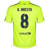 La Collection Maillot Barcelone A.Iniesta Troisieme 2014 2015