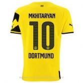 La Collection Maillot Borussia Dortmund Mkhitaryan Domicile 2014 2015