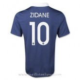 Magasin Maillot France Zidane Domicile 2014 2015
