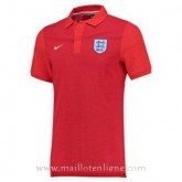 Maillot Angleterre Polo Rouge Euro 2016 Promos