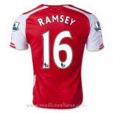 Maillot Arsenal Ramsey Domicile 2014 2015 Pas Cher Nice