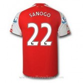 Maillot Arsenal Sanogo Domicile 2014 2015 PasCher Fr