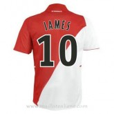 Maillot As Monaco James Domicile 2014 2015 Vendre Cannes