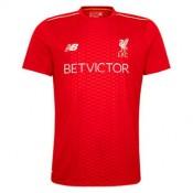 Maillot Avant-Match Liverpool Rouge 2016 2017 Personnalisé