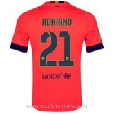 Maillot Barcelone Adriano Exterieur 2014 2015 Prix