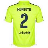 Maillot Barcelone Montoya Troisieme 2014 2015 Promos