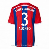 Maillot Bayern Munich Alonso Domicile 2014 2015 Paris