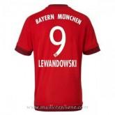 Maillot Bayern Munich Lewandowski Domicile 2015 2016 Soldes Marseille