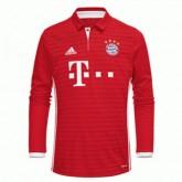 Maillot Bayern Munich Manche Longue Domicile 2016 2017 Soldes Paris