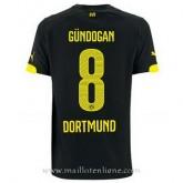 Maillot Borussia Dortmund Gundogan Exterieur 2014 2015 Vendre