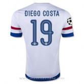 Maillot Chelsea Diego Costa Exterieur 2015 2016 Escompte En Lgine