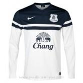 Maillot Everton Manche Longue Troisieme 2013-2014 Pas Cher