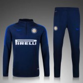 Maillot Formation Ml Inter Milan Bleu Marine 2016 2017 Ventes Privées