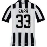 Maillot Juventus Evra Domicile 2014 2015 Pas Chere