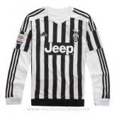 Maillot Juventus Manche Longue Domicile 2015 2016 Soldes Nice