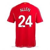 Maillot Liverpool Allen Domicile 2014 2015 Rabais