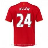 Maillot Liverpool Allen Domicile 2015 2016 Rabais en ligne