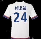 Maillot Lyon Tolisso Domicile 2015 2016 Officiel