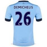 Maillot Manchester City Demichelis Domicile 2014 2015 Soldes