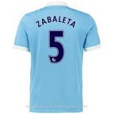 Maillot Manchester City Zabaleta Domicile 2015 2016 Escompte En Lgine