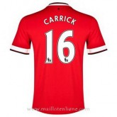 Maillot Manchester United Carrick Domicile 2014 2015 Promos Code