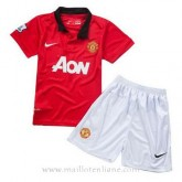 Maillot Manchester United Enfant Domicile 2013-2014 France Métropolitaine