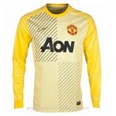 Maillot Manchester United Manche Longue Goalkeeper 2013-2014 Moins Cher