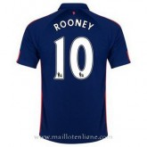 Maillot Manchester United Rooney Troisieme 2014 2015 Pas Cher Prix