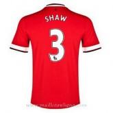 Maillot Manchester United Shaw Domicile 2014 2015 Pas Chère