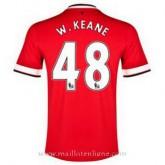 Maillot Manchester United W.Keane Domicile 2014 2015 Remise prix