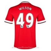 Maillot Manchester United Wilson Domicile 2014 2015 Site Officiel France