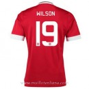 Maillot Manchester United Wilson Domicile 2015 2016 Soldes