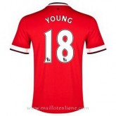 Maillot Manchester United Young Domicile 2014 2015 Soldes Nice