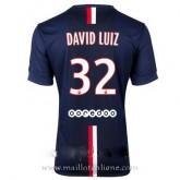 Maillot Psg David Luiz Domicile 2014 2015 Boutique