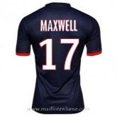 Maillot Psg Maxwell Domicile 2013-2014 Vente En Ligne