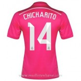 Maillot Real Madrid Chicharito Exterieur 2014 2015 Pas Chère