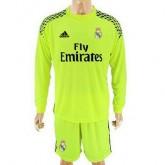 Maillot Real Madrid Manche Longue Gardien Exterieur 2016 2017 Boutique