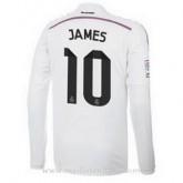 Maillot Real Madrid Manche Longue James Domicile 2014 2015 En Ligne