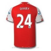 Meilleure Qualité Maillot Arsenal Diaby Domicile 2014 2015