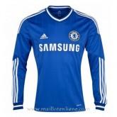 Meilleure Qualité Maillot Chelsea Manche Longue Domicile 2013-2014